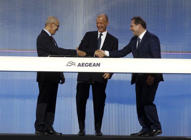 Νέους ορίζοντες για την AEGEAN ανοίγει η συμφωνία με την AIRBUS | tovima.gr