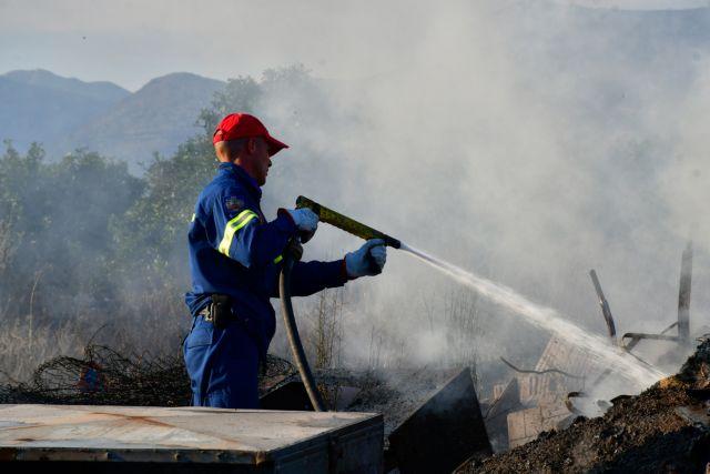 Σε ύφεση η φωτιά στη Σητεία – Φόβοι για τις αναζωπυρώσεις | tovima.gr