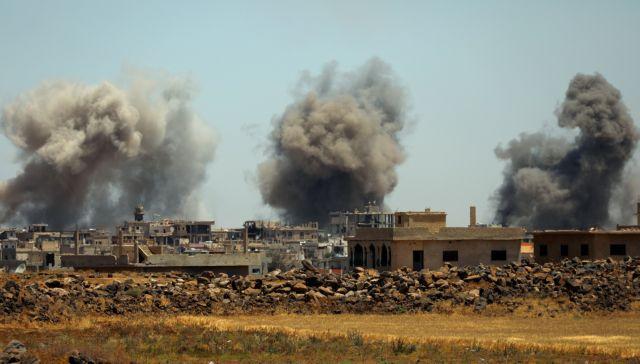Ισραηλινοί πύραυλοι έπληξαν περιοχή κοντά στο αεροδρόμιο της Δαμασκού   tovima.gr