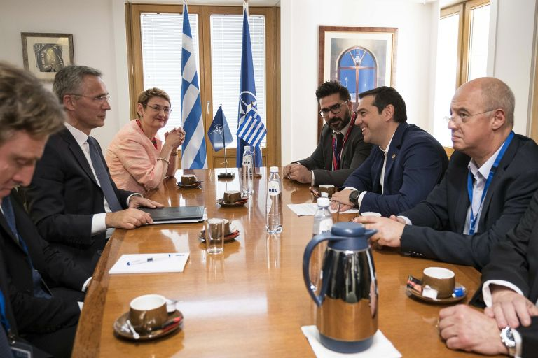 Τσίπρας: Εθεσε στον Στόλτενμπεργκ το θέμα για τους δύο στρατιωτικούς | tovima.gr
