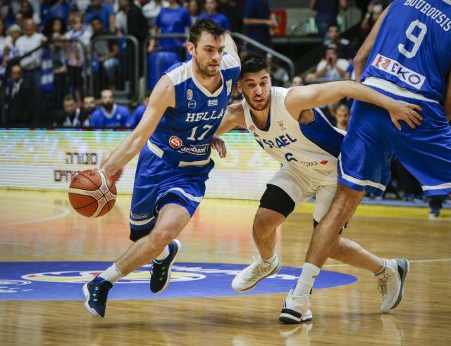 Μπάσκετ: Νίκη της Εθνικής επί του Ισραήλ | tovima.gr