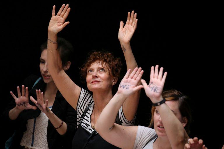 ΗΠΑ: Συνελήφθη η ηθοποιός Σούζαν Σαράντον | tovima.gr