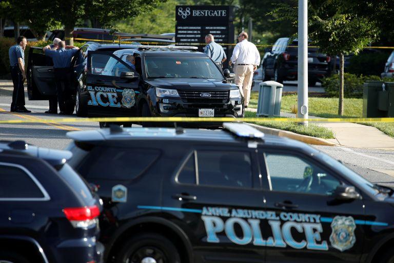 Κατηγορίες για 5 φόνους στον δράστη της επίθεσης στο Μέριλαντ | tovima.gr