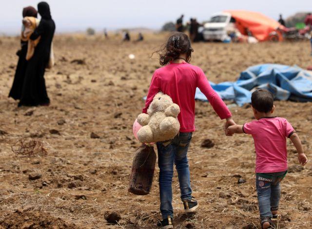Ιορδανία: Ανθρωπιστική βοήθεια στους εγκλωβισμένους στα σύνορα Σύρους | tovima.gr
