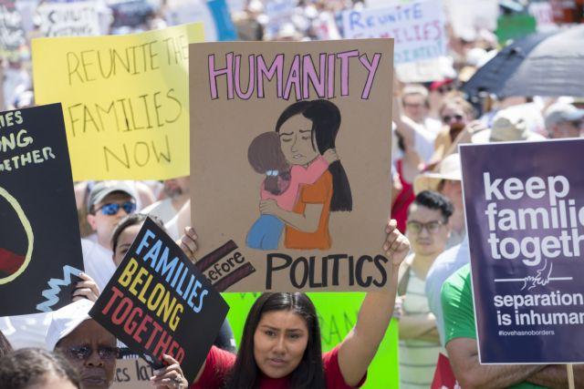 ΗΠΑ: Άμεση επανένωση παιδιών κάτω των 5 ετών με τους μετανάστες γονείς τους | tovima.gr