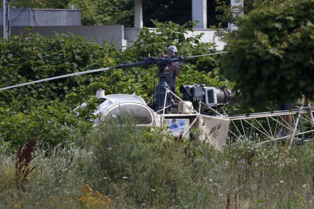 Ελικόπτερο  αεροκομιδής ασθενών συντερίβη σε αυτοκινητόδρομο στο Σικάγο | tovima.gr