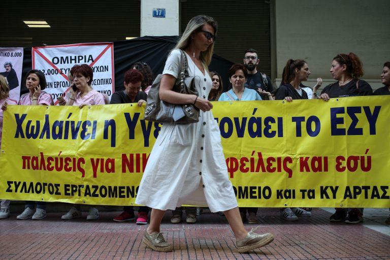 Κατάρρευση του συστήματος υγείας καταγγέλλει η ΠΟΕΔΗΝ   tovima.gr