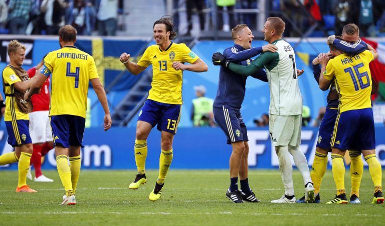 Μουντιάλ 2018: Σουηδία – Ελβετία 1 – 0 | tovima.gr
