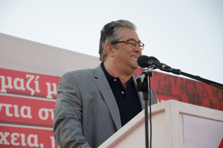 Κουτσούμπας: Η κυβέρνηση ΣΥΡΙΖΑ σημαιοφόρος του NATO και των ΗΠΑ | tovima.gr