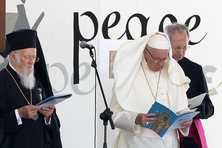 Πάπας Φραγκίσκος: Η Μέση Ανατολή είναι γη των ανθρώπων που εγκαταλείπουν την γη τους | tovima.gr