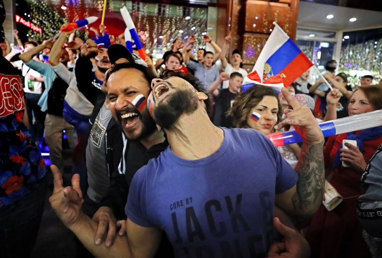 Βλαντιμίρ  Πούτιν: Ήρωες οι παίχτες της Ρωσίας | tovima.gr