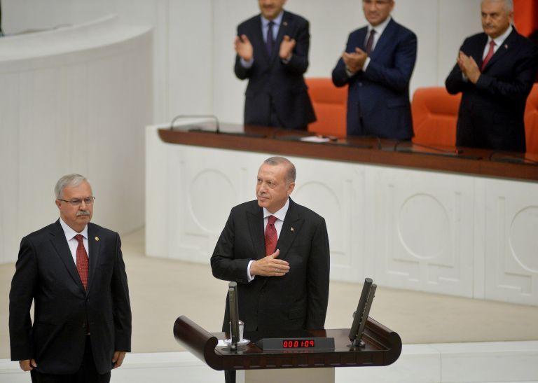 Τουρκία: Ορκίστηκε ο Ερντογάν για νέα θητεία 5 ετών στην Προεδρία | tovima.gr
