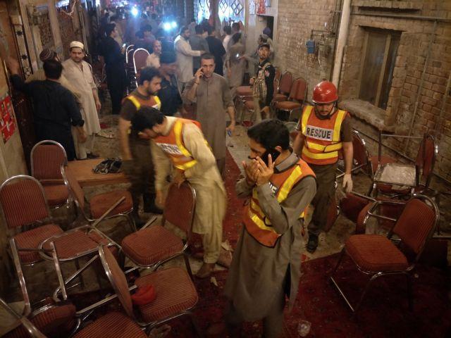Πακιστάν: Νεκροί και τραυματίες από βομβιστική επίθεση | tovima.gr