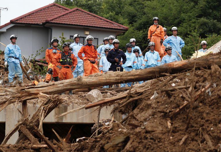 Ιαπωνία: Στους 179 οι νεκροί από πλημμύρες και κατολισθήσεις | tovima.gr