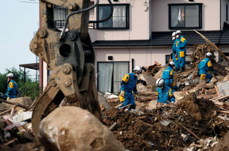 Ιαπωνία: Στους 199 οι νεκροί από τις πλημμύρες – κατολισθήσεις | tovima.gr