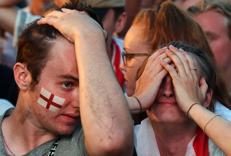 Απογοήτευση στα αγγλικά ΜΜΕ για τον αποκλεισμό της Εθνικής τους | tovima.gr