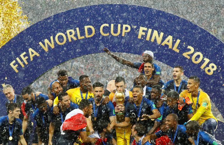 Παγκόσμιο Κύπελλο Ποδοσφαίρου 2018: Εικόνες από το Γαλλία – Κροατία   tovima.gr