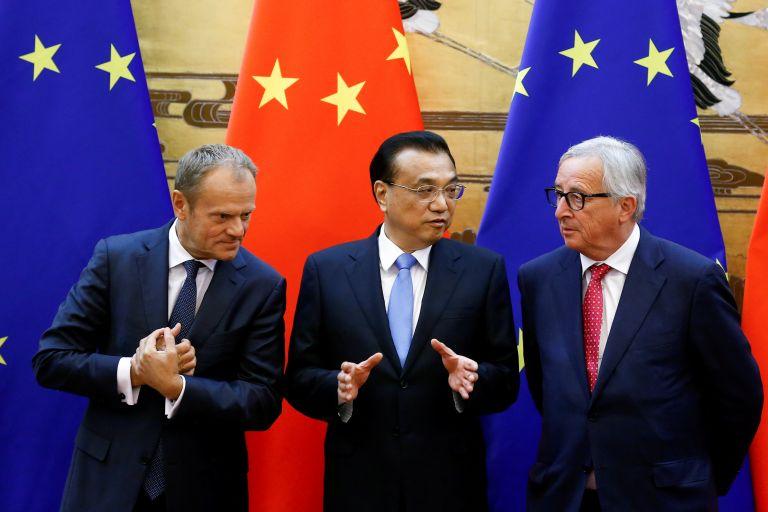 Συζητήσεις για νέες εμπορικές συμφωνίας ΕΕ – Κίνας | tovima.gr