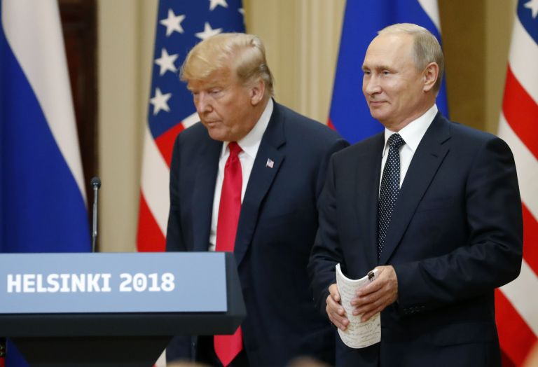 Πούτιν: Να αρχίσουμε διάλογο για την ισορροπία των πυρηνικών όπλων – Τραμπ: Η σχέση μας έχει αλλάξει | tovima.gr