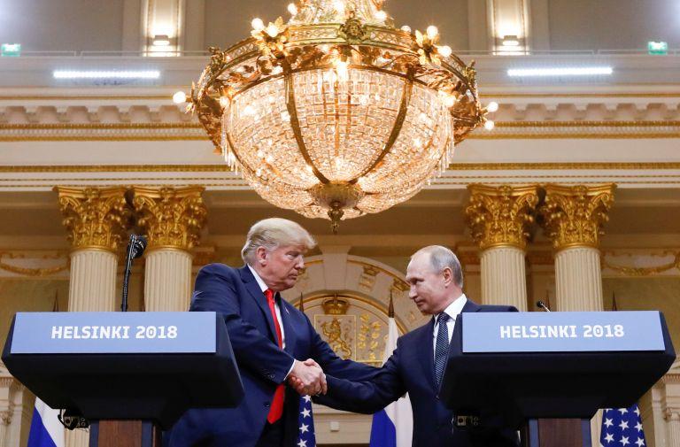Τραμπ – Πούτιν:  Ενώνονται στο εξώφυλλο του Time | tovima.gr