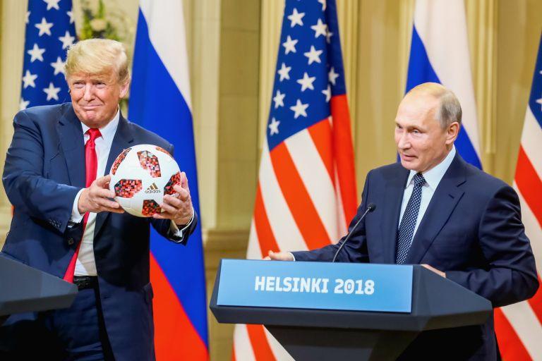 Το δώρο του Πούτιν που έκανε… πάσα ο Τραμπ   tovima.gr