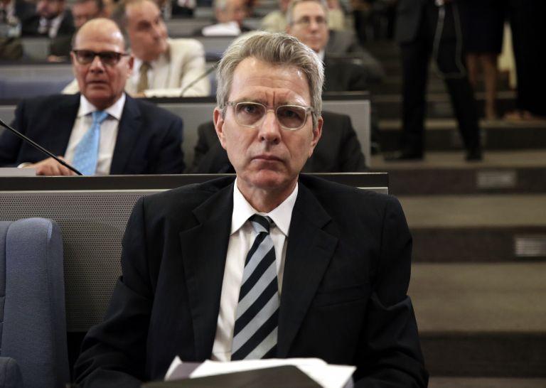 Συνάντηση του αμερικανού πρέσβη με τον Περιφεριάρχη Πελοποννήσου | tovima.gr
