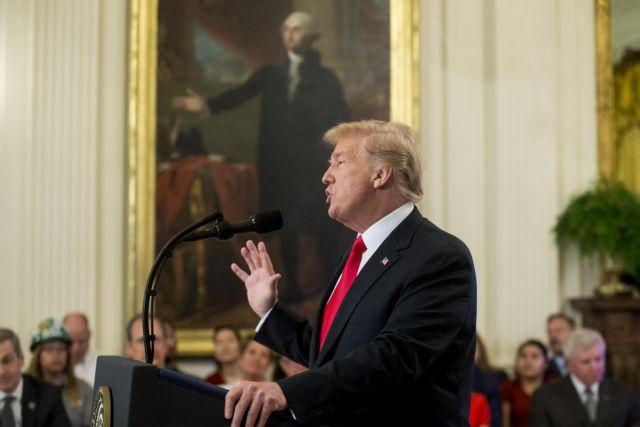 Τραμπ :  O αγαπημένος σας Πρόεδρος δεν έκανε τίποτα μεμπτό | tovima.gr