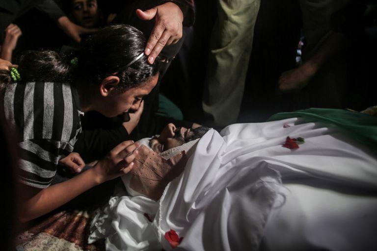 Γάζα: Νεκροί δύο παλαιστίνιοι από ισραηλινούς βομβαρδισμούς | tovima.gr