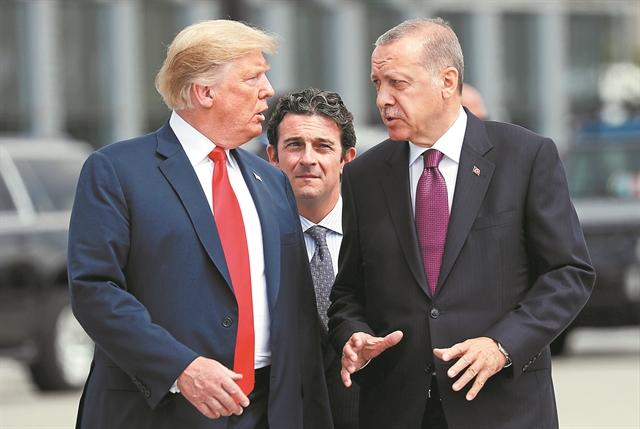 Οι εκβιασμοί Ερντογάν και τοαμερικανικό σχέδιογια συμμαχία Ισραήλ,Ελλάδας, Κύπρου | tovima.gr