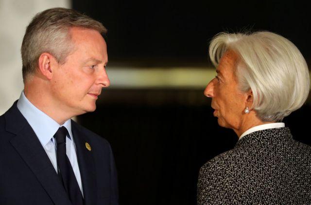 Λε Μερ: Δεν μπορούμε να διαπραγματευούμε με τις ΗΠΑ αν δεν αποσύρουν τους δασμούς | tovima.gr