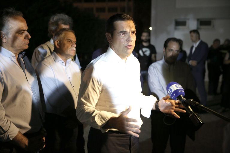 Government knew about the dead four hours before PM appeared on television | tovima.gr