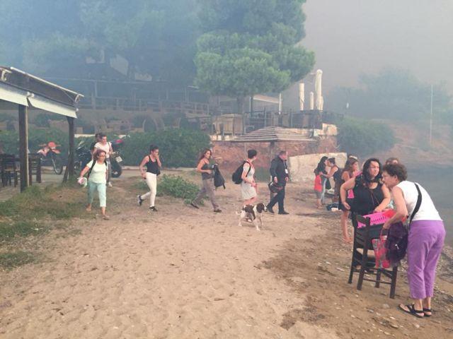 Συγκλονιστικό βίντεο από διάσωση εγκλωβισμένων στο Μάτι | tovima.gr