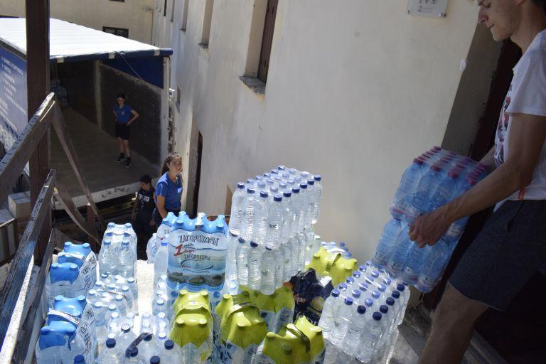 Κύπρος: Ανθρωπιστική βοήθεια στους πυρόπληκτους | tovima.gr