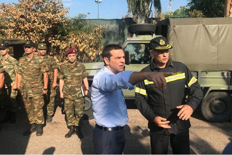 Κατακραυγή για την επίσκεψη Τσίπρα στο Μάτι | tovima.gr