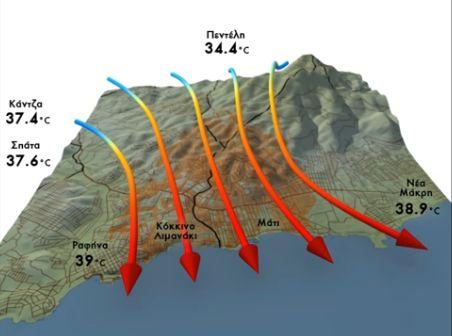 Αποκαλυπτικό βίντεο δείχνει τους ανέμους που απανθράκωσαν το Μάτι | tovima.gr