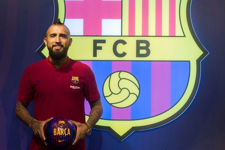 Μπαρτσελόνα:  Ο Βιδάλ υπέγραψε τριετές συμβόλαιο | tovima.gr