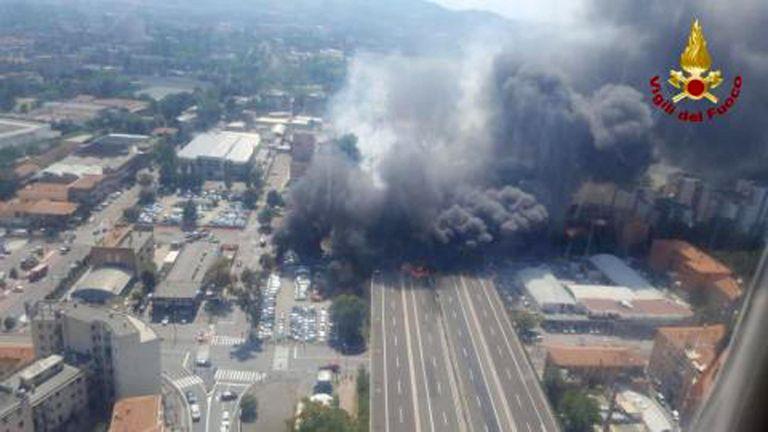 Μπολόνια – Προσωπική μαρτυρία: Σκέφτηκα ότι ήταν επίθεση οι εκρήξεις κοντά στο αεροδρόμιο | tovima.gr