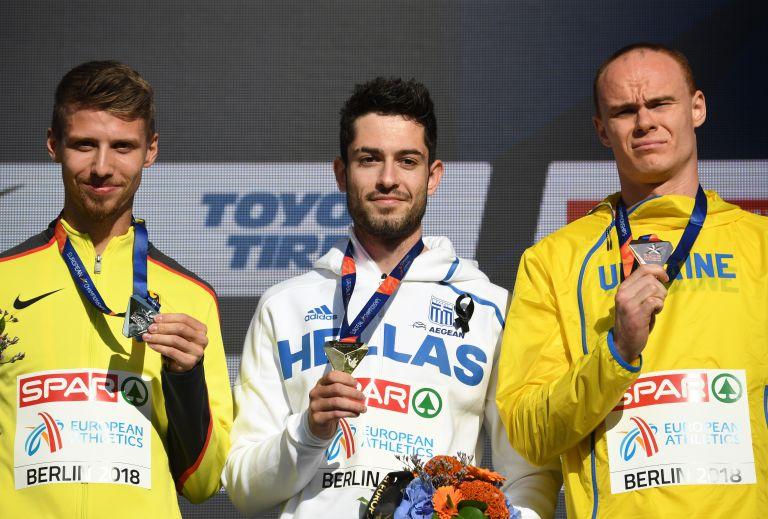 Ευρωπαϊκό Πρωτάθλημα Στίβου: Απονεμήθηκε το χρυσό στον Τεντόγλου | tovima.gr
