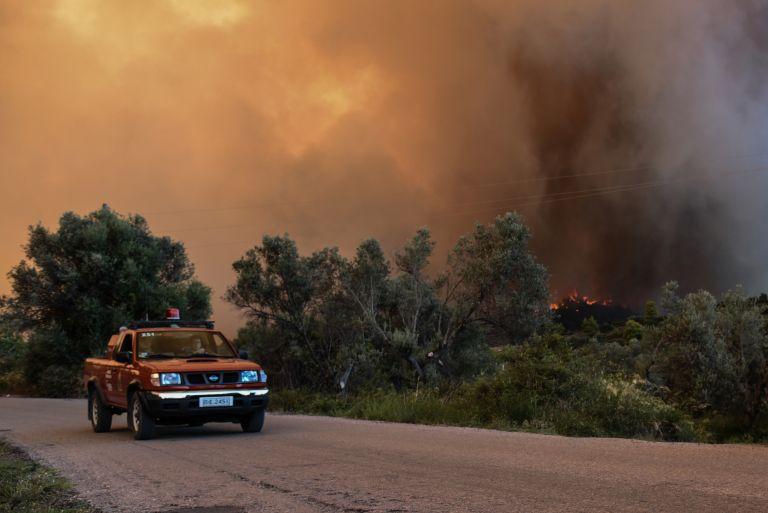 Εύβοια – πυρκαγιά: Αισιοδοξία του γγ Πολιτικής Προστασίας | tovima.gr