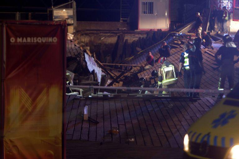 Ισπανία: Κατέρρευσε εξέδρα σε μουσικό φεστιβάλ – 316 τραυματίες | tovima.gr