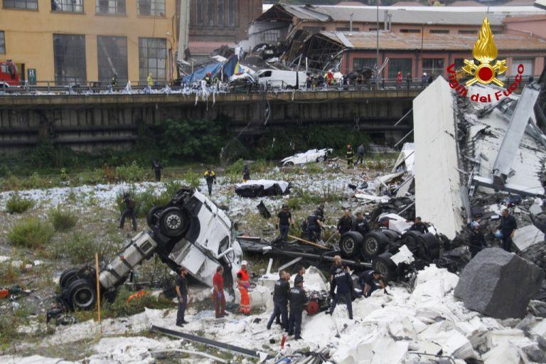 ΥΠΕΞ: Εκφράζει τη βαθιά του οδύνη για την τραγωδία στη Γένοβα | tovima.gr
