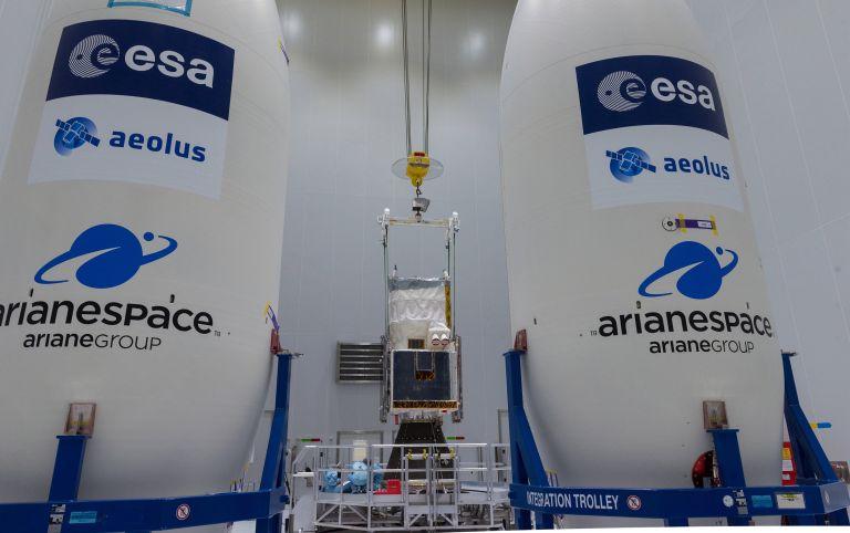 Εκτόξευση του ευρωπαϊκού δορυφόρου Αίολος για την πρόγνωση του καιρού (video) | tovima.gr