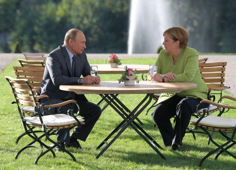 Αφίχθηκε στο Βερολίνο ο Πούτιν | tovima.gr