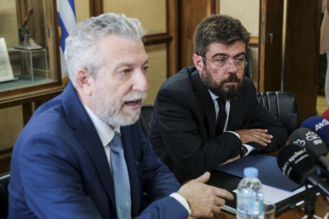 Σε ήπιο κλίμα η τελετή παράδοσης – παραλαβής στο υπουργείο Δικαιοσύνης | tovima.gr