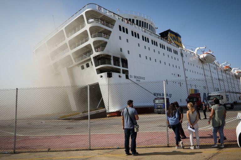 Για 2ο εικοσιτετράωρο καίει η φωτιά στο πλοίο «Ελευθέριος Βενιζέλος»   tovima.gr