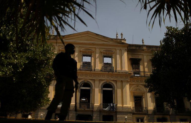 Ανυπολόγιστη η καταστροφή στο Εθνικό Μουσείο του Ρίο ντε Τζανέιρο | tovima.gr
