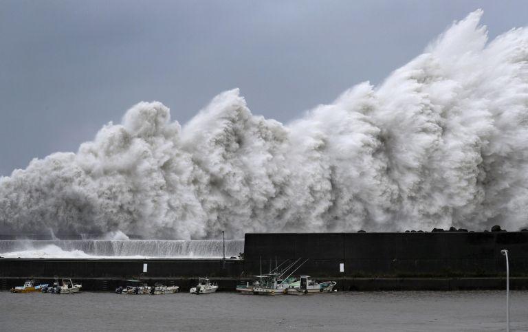Ο ισχυρότερος τυφώνας των τελευταίων 25 ετών στην Ιαπωνία | tovima.gr