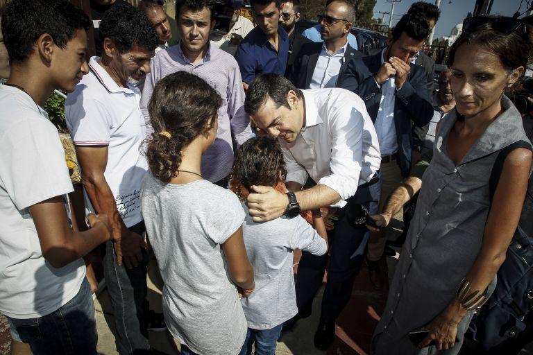 Τσίπρας: «Το Μάτι δεν θα ξεχαστεί, είναι ένα στοίχημα να αναγεννηθεί» | tovima.gr