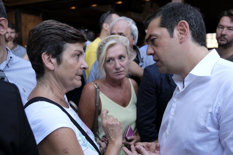 Τι ζήτησαν οι κάτοικοι του Ν. Βουτζά στον Τσίπρα   tovima.gr