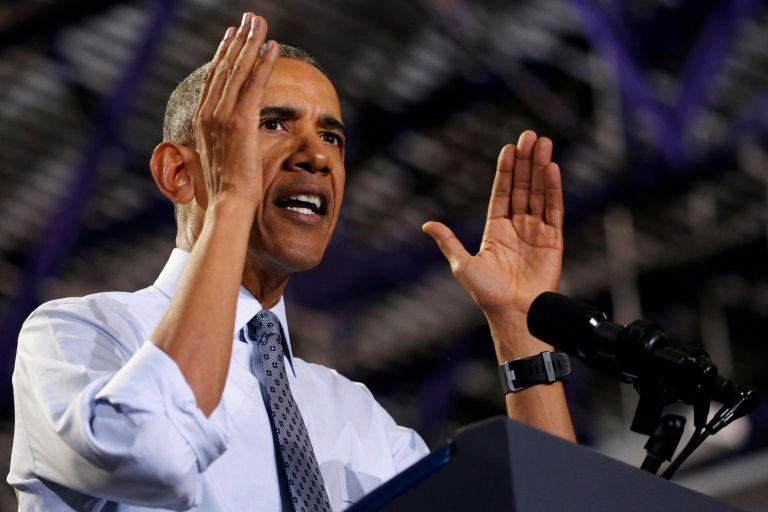 ΗΠΑ: Βέλη Μπαράκ Ομπάμα κατά Ρεπουμπλικανών για τη στήριξη στον  Πρόεδρο Τραμπ | tovima.gr